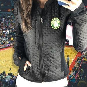 Boston Celtics Women's Textured Performance Jacket